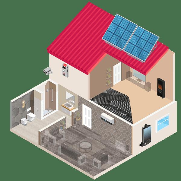 Risen Servizi - Risparmio energetico, climatizzazione, termoidrailuca, energia, elettroforniture, fotovoltaico